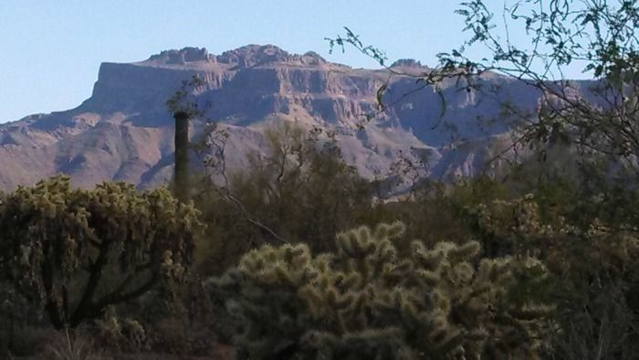 Arizona Mountains _ Superstition Mountains