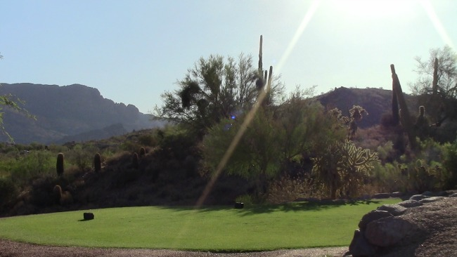 Golfing and Hiking in Arizona