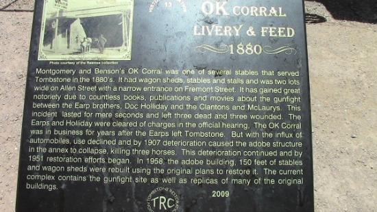 OK Corral Livery & Feed 1880