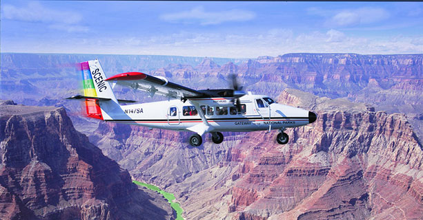 Scenic Airlines Grand Canyon Deluxe Tour