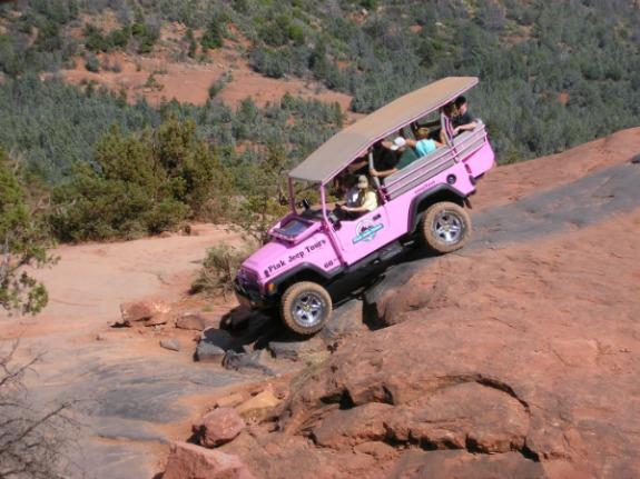 Sedona Pink Jeep Tour