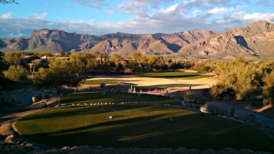 Superstition Mountain - View from Sidewinder Golf Course