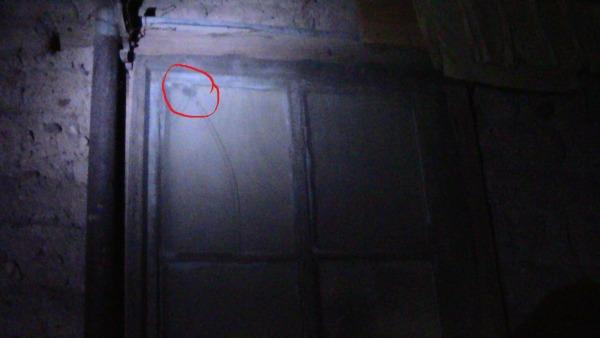 Bullet Hit Morgue Window