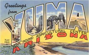 Yuma Arizona Postcard