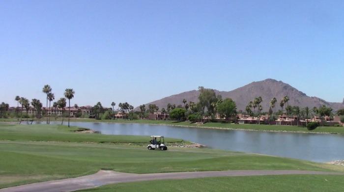Golfing at McCormick Ranch