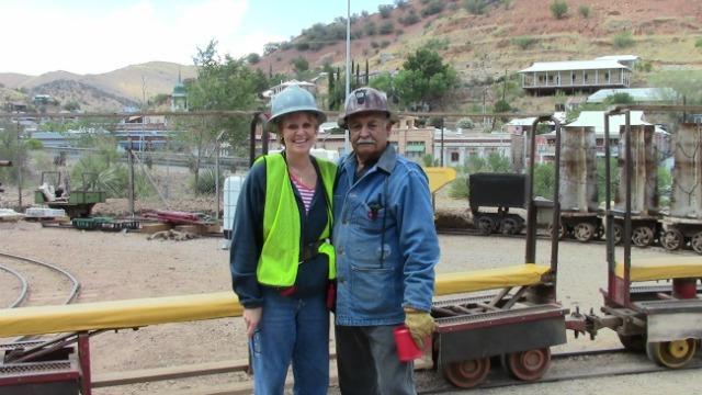 Monty and Former Cooper Queen Miner